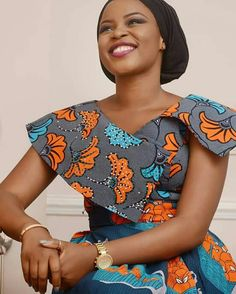 Look at this Stylish latest african fashion look African Fashion Designers, African Fashion Ankara, Ghanaian Fashion, Latest African Fashion Dresses, African Print Fashion, Africa Fashion, Fashion Prints, African Dresses For Women, African Print Dresses