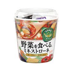 野菜を食べる、ミネストローネ - 食@新製品 - 『新製品』から食の今と明日を見る!