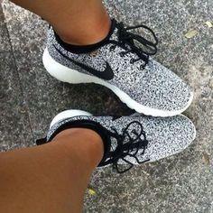 NIKE Women Men Running Sport Casual Shoes Sneakers starry sky Grey
