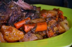 Best Sunday Crockpot Roast Recipe  this is fabulous. The best roast ever . To die for! www.thesassystove.com