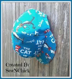 Newsboy Hat by SewNChick on Etsy #DrSeuss #Birthdays #DRSEUSSBIRTHDAY