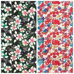 new ikea fabric (right)