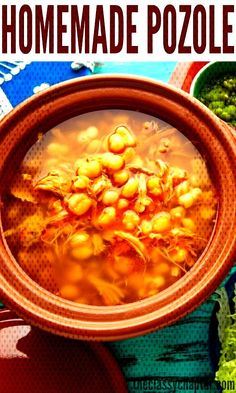 This homemade posole recipe is the real deal! No shortcuts and very authentic! Authentic Mexican Recipes, Menudo Recipe Authentic, Mexican Soup Recipes, Raw Food Recipes, Mexican Desserts, Mexican Menu, Menudo Recipe Easy, Pozole Recipe Pork, Healthy Recipes