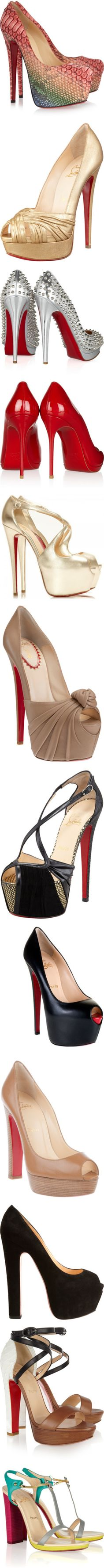 """""""Oh , Louboutin Shoes !!!"""" by anelalovenathan on Polyvore"""