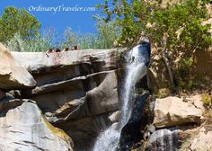 Devil's Punch Bowl (AKA: Cedar Creek Falls) is San Diego's most spectacular waterfall. This 80-foot waterfall cascades into a fresh water pool, complete with a small rope swing.