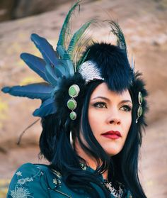 Athena headdress. $ 300.00, via Etsy.