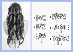 Trenza francesa, tutorial