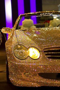 Sparkling car