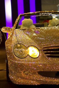 Gold Mercedes Benz