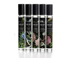 """The current collection, which included three perfumes Amazon Lily, Midnight Fleur and Passiflora,available in bottles painted with flowers, will be expanded by two new perfumes, Dahlia & Vines and White Sandalwood. The collection of 5 perfumes will be presented in the niche department in 2014 in Sephora stores. The new glass bottles are inspired by """"paper mosaics"""" from the 18th century by artist Mary Delany."""