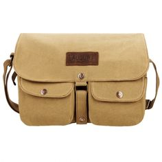 Vintage Style Unisex Canvas Messenger Travel School Casual Shoulder Bag