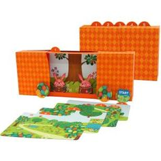 Der Hase und die Schildkröte,Spielzeuge,Papiermodelle,Hase,Märchen,Bilderbuch,Schildkroete