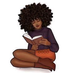 Black Love Art, Black Girl Art, My Black Is Beautiful, Black Girl Magic, Black Girl Cartoon, Dope Cartoon Art, Black Art Painting, Black Artwork, Black Power