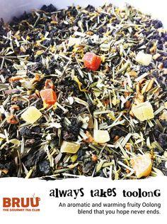Our tasty fruity Oolong loose leaf tea blend