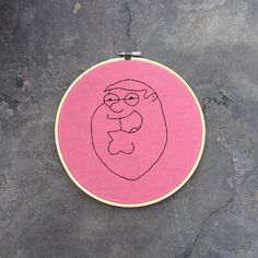 Hey, I found this really awesome Etsy listing at https://www.etsy.com/listing/240968425/peter-griffin-family-guy-embroidery-hoop