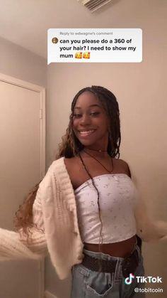 Black Girl Braided Hairstyles, Twist Braid Hairstyles, African Braids Hairstyles, Wig Hairstyles, Protective Hairstyles, Protective Styles, Braids For Black Hair, Curly Hair Braids, Curly Hair Styles