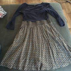H&M dress Very flattering, size small H&M Dresses Midi