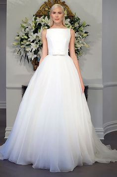 This Legends Romona Keveza ball gown is simply elegant.