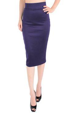LeggingsQeen High Waist Stretch Basic Pencil Skirt (Eggplant, Medium) LeggingsQueen,http://www.amazon.com/dp/B00F9R8HDG/ref=cm_sw_r_pi_dp_24lrsb1R4A0XM4NB