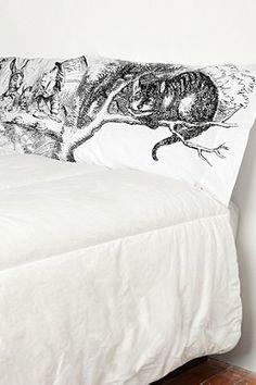 @Amber Diver Alice Tea Party Pillowcase Set