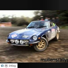 Always had a thing for #240z and always wanted to #rally one so cool. I remember a white shirt be that I owned the sound was so good!