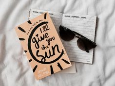 I'll Give You The Sun - Review Jandy Nelson, Book Recommendations, Book Lovers, Sun, Writing, Words, Blog, Blogging, Being A Writer