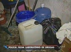 Galdino Saquarema Noticia: Polícia fecha laboratório de drogas em São Paulo