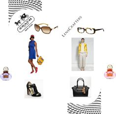 """Share Your Style with LensCrafters and Coach"" by cynnastylz on Polyvore"