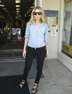 blue jean shirt!