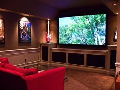 Small Media Room Media Room Design Ideas, Pictures, Remodel And Decor |  Spare Room Ideas | Pinterest | Small Media Rooms, Media Room Design And Room