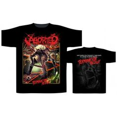 Tricou Aborted: Termination Redux Heavy Metal, Graphic Sweatshirt, Sweatshirts, Mens Tops, Material, Band, Products, Cotton, Heavy Metal Music