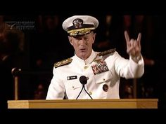 Admiral McRaven addresses the University of Texas at Austin Class of 2014 - YouTube