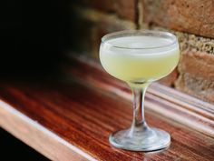 How to Make Beloved's That's My Word. At Beloved in Greenpoint, Brooklyn, Hidalgo makes a lovely tribute to The Last Word, a prohibition-era #cocktail traditionally made with equal parts gin, green Chartreuse, maraschino liqueur, and lime juice. #recipe