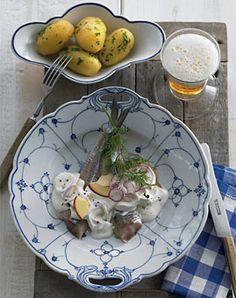 Matjes nach Hausfrauenart - Rezepte - [LIVING AT HOME]