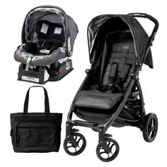 Peg Perego – Booklet Stroller in Onyx With Primo Viaggio Car Seat and Diaper Bag  http://www.babystoreshop.com/peg-perego-booklet-stroller-in-onyx-with-primo-viaggio-car-seat-and-diaper-bag/