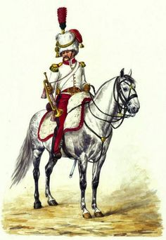 Trumpeter of the 4th Mounted Rifle Regiment. Fig. E. Grammont.
