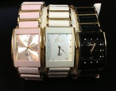 "Liquidation Channel: Genoa ""Jubilee"" Ceramic watches in Pink, White and Black"