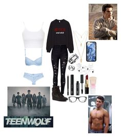"""""""Going For A Run With Theo"""" by matthew-espinosa-girl17 ❤ liked on Polyvore featuring NIKE, Forever 21, FACE Stockholm, Ray-Ban, Bobbi Brown Cosmetics, Maybelline, Hunkemöller, Topshop and Beta Fashion"""