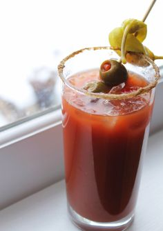 Bloody mary, Bloody mary recipes and Bloody mary mix on Pinterest