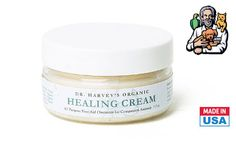 """Dog owners and pups will love this deal: """"One Jar of Dr. Harvey's Healing Cream"""" as featured on doggyloot.com"""