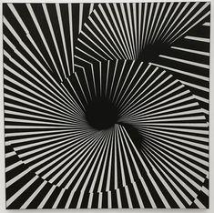 Franco Grignani, Structural dance, 1965 [from GARADINERVI] Op Art, Bad Homburg, Logo Sketches, Museum, Ludwig, Photo Logo, Tumblr, Vertigo, Geometric Art