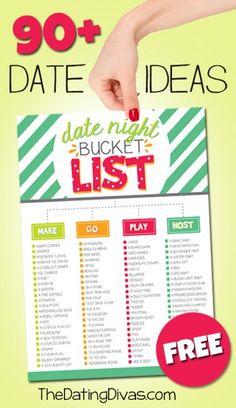 190 Date Night Ideas from The Dating Divas - BonBon Break