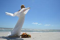 I believe I can fly Strand Hochzeit Florida