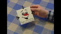 Открытка «Олаф» / Postcard «Olaf» / ПОДЕЛКА