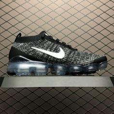 2019 Nike Air VaporMax Flyknit 3.0 Black White AJ6900-001-3 New Nike Air f290a1869