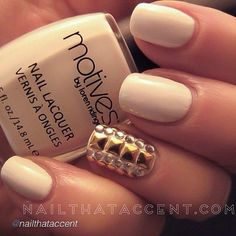 chic. #nail #unhas #unha #nails #unhasdecoradas #nailart #gorgeous #fashion #stylish #lindo #cool #cute #fofo #chic #elegante