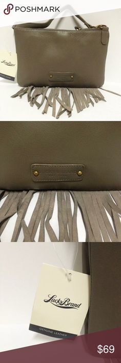 Women's Lucky Brand Bailey Convertible Crossbody NEW! Women's Lucky Brand Bailey Convertible Crossbody. Leather. Adjustable strap. Olive. Lucky Brand Bags Crossbody Bags
