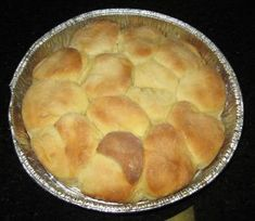 Jail House Rolls - My grandmother, Etta, made these regularly when I was a little girl. Her recipe was just a little different: use 1 c. potato flakes mixed with 1 c. boiling water instead of mashed potatoes, 2 packages of dry yeast,  3/4 cups of sugar, and 1 ½ teaspoons of salt. These should be made the day before and can last in the fridge for several days.