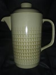 NOVELLE COFFEE POT Designer Peter Gibbs Porcelain, Auction, Pottery, Crown, Mugs, Coffee, Tableware, Glass, Design