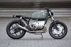 Racing Cafè : BMW R80 RT 1989 Schizzo Scrambler by WalzWerk-Racing